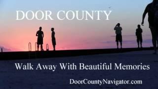 Walk Away Memories - Sister Bay Sunset - Door County Sunsets