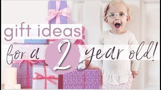 What I Got My 2 Year Old For Her Birthday! | Haul + Gift Ideas for Girls and Boys!