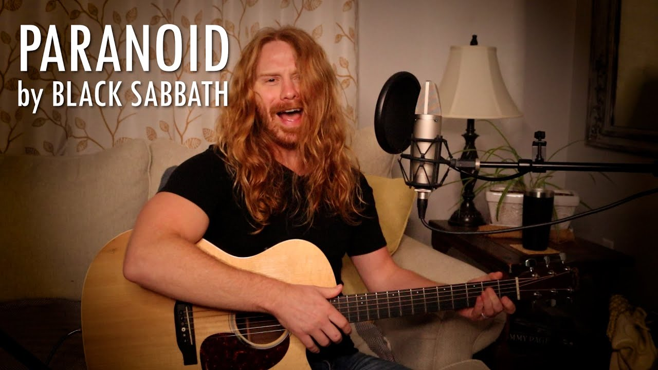 """Paranoid"" by Black Sabbath - Adam Pearce (Acoustic Cover)"