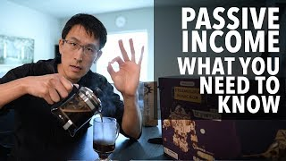 Passive Income: 5 MUST KNOW TIPS.  Don't start without knowing these.