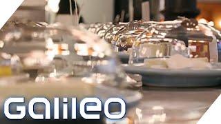 Käse statt Sushi: Das Käse-Restaurant in London | Galileo | ProSieben