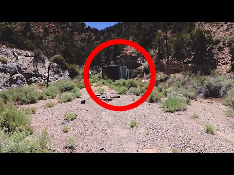AREA 51 MASSIVE CREEPY ABANDONED TUNNEL
