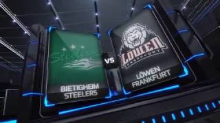 DEL2 Highlights 24. Spieltag | Bietigheim Steelers vs. Löwen Frankfurt