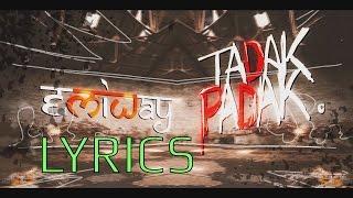 Emiway - Tadak Padak LYRICS   Full Song   New Hindi Rap Song 2016