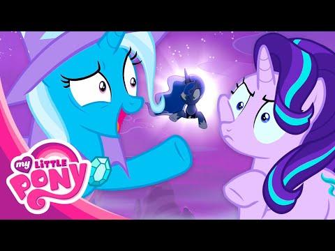 Мультфильм Дружба - это чудо 6 сезон про Мой Маленький Пони. Туда и обратно. Часть 1