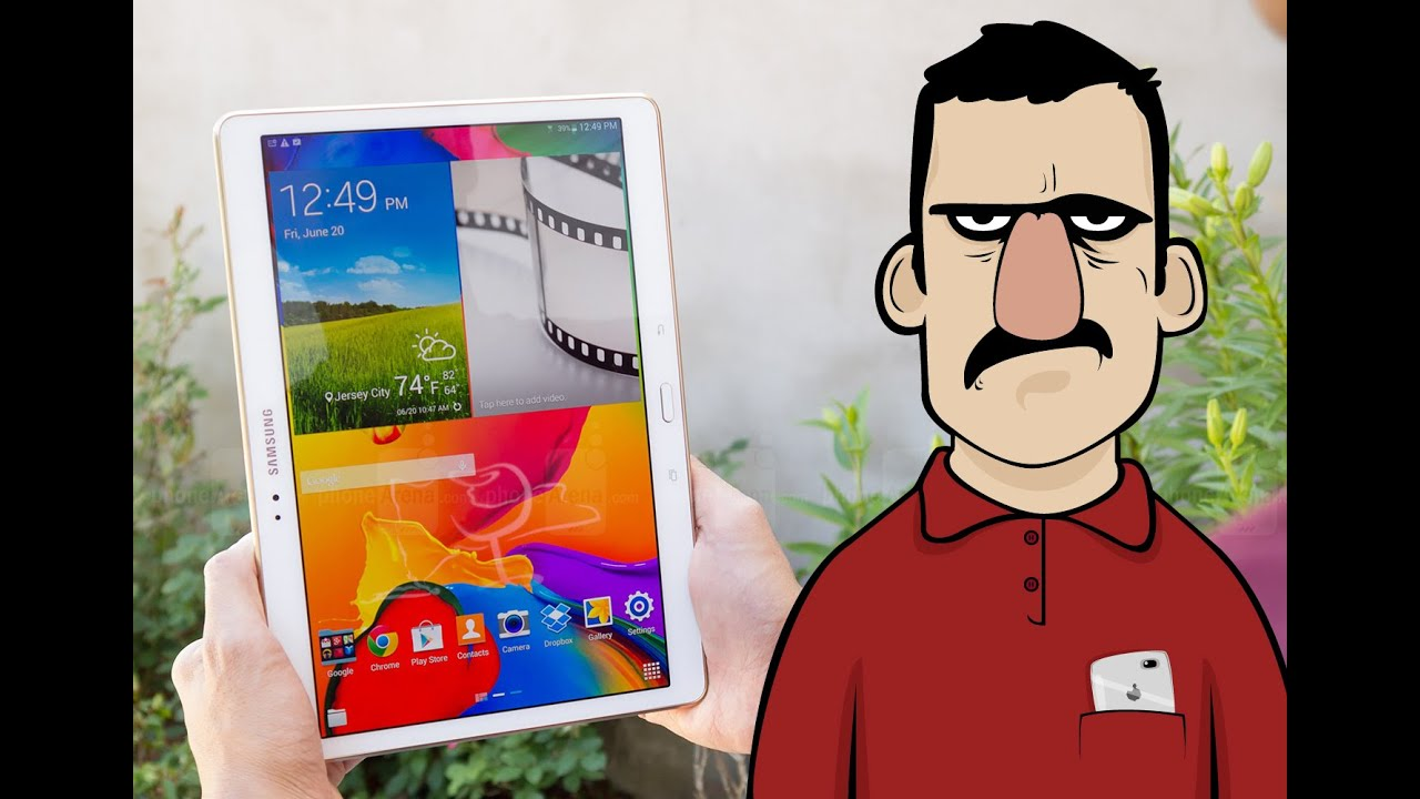 Samsung Galaxy Tab S İncelemesi - Teknolojiye Atarlanan Adam