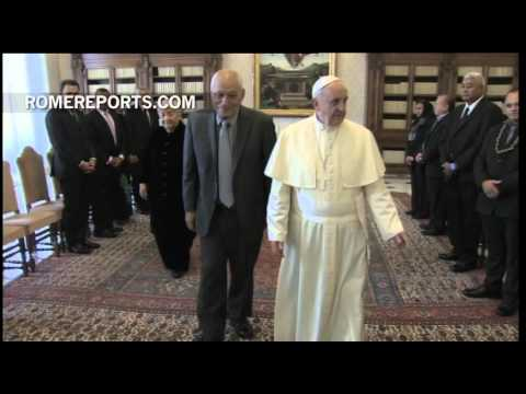 Pope welcomes Samoa\'s Head of State: Economics and the Environment discussed