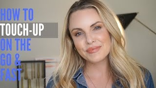 HOW TO TOUCH UP ON-THE-GO IN 5 MIN. || Flawless Complexion