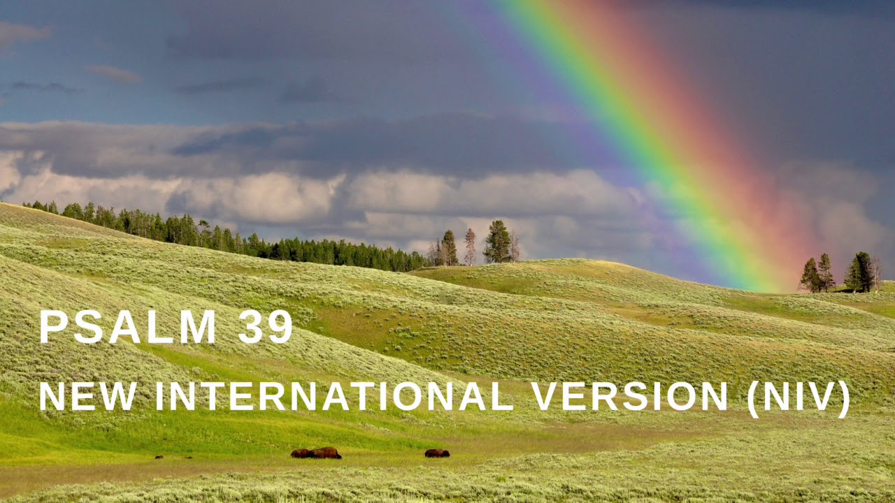 Psalm 39 audio version from the NIV