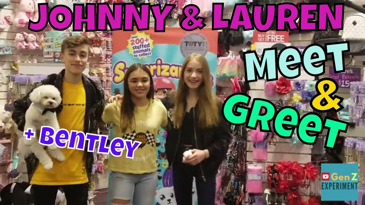 Johnny orlando and lauren meet and greet youtube johnny orlando and lauren meet and greet m4hsunfo
