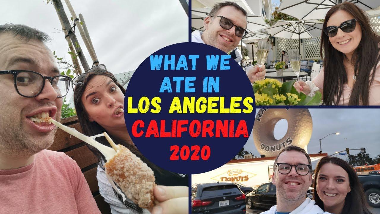 What We Ate Ate in Los Angeles California March 2020 | KrispySmore