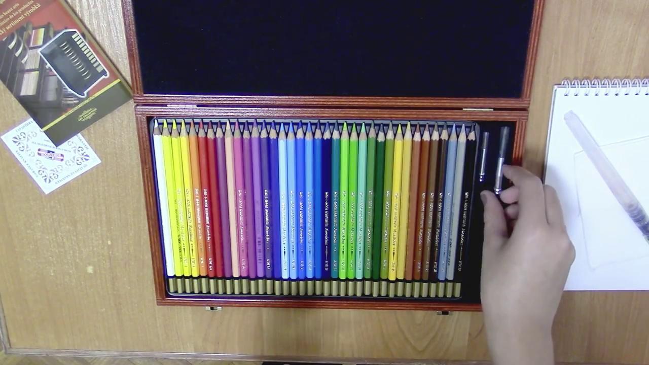 KOH-I-NOOR Набор карандашей цветных КОШКИ+СОБАКИ, 24 цв. - YouTube