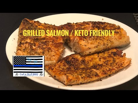 How to Grill Salmon / Keto Diet Friendly thumbnail