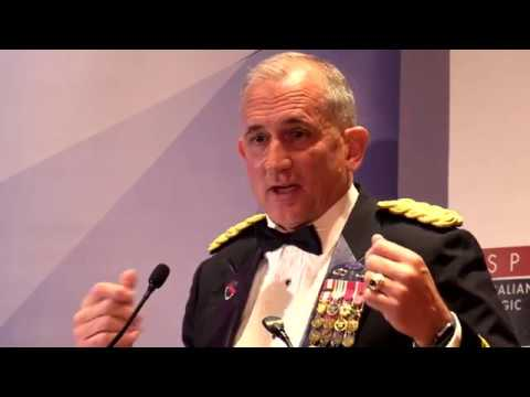 ASPI 2018 Gala Dinner. General Robert Brown, Commander, United States Army Pacific