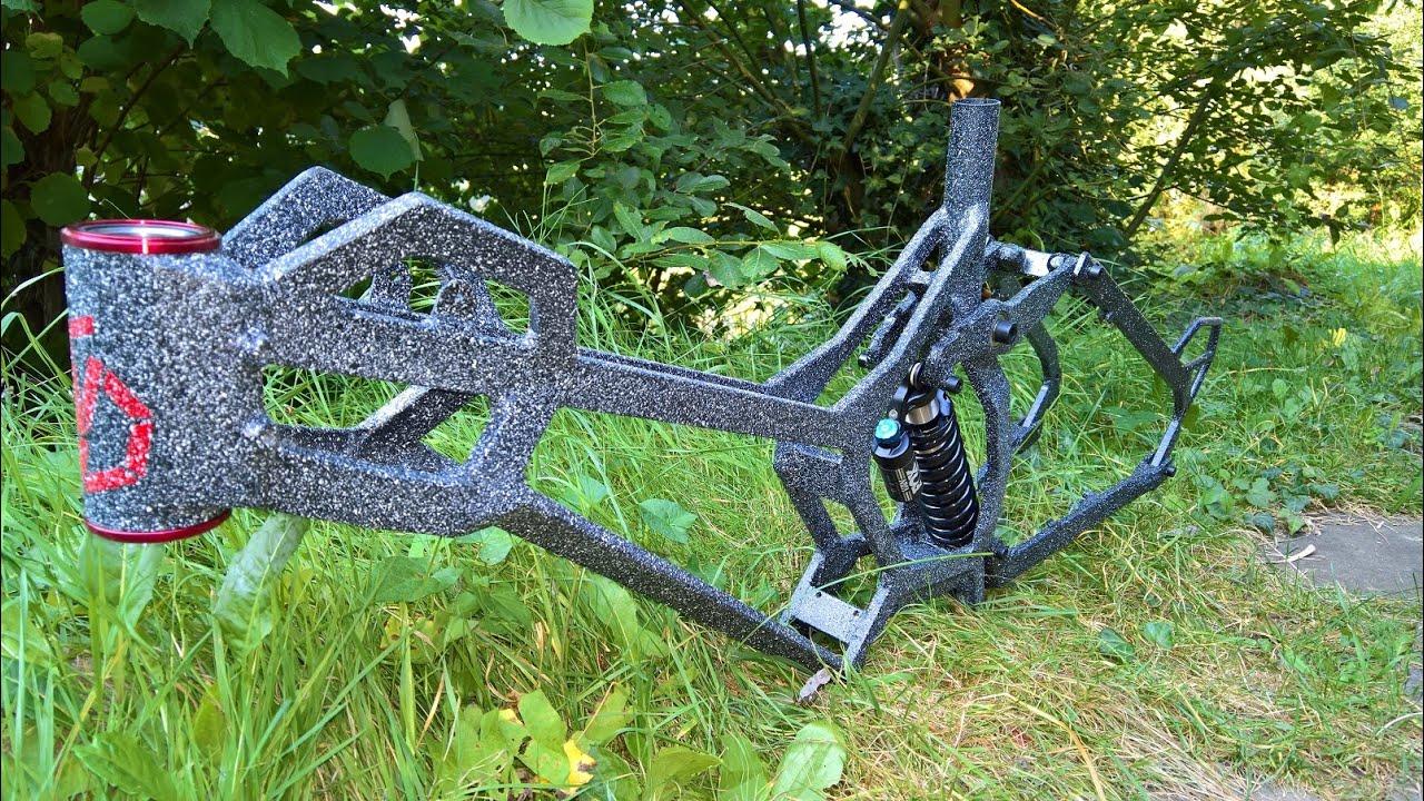 E Bike Downhill Frame 27,5 - YouTube