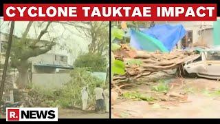 Republic TV Reports On Cyclone Tauktae Impact In Gujarat \u0026 Maharashtra