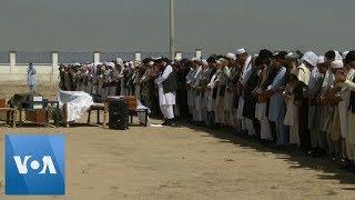 Families Bury Victims of Afghan Wedding Blast