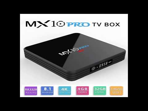 MX10 PRO TV Box with Digital Display Review - Android TV box Review