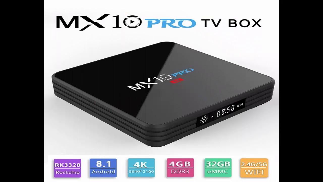 MX10 PRO TV Box with Digital Display - GearBest