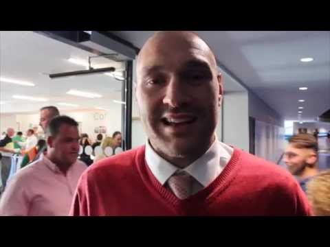 TYSON FURY BRANDS KLITSCHKO A 'BORING PRICK' & EXPLAINS THAT INFAMOUS 'KLIT IS GETTING LICKED LINE'