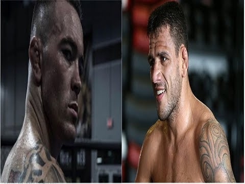 Colby Covington Calls Out 'Filthy Animal' Rafael Dos Anjos For Interim Title Fight, RDA Responds