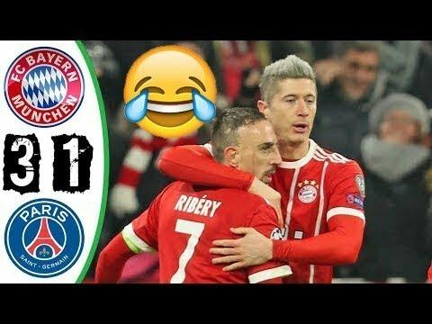 Download Bayern Munich vs PSG 2017 3-1 RESUMEN Y GOLES ALL GOALS Y HIGHLIGHTS Champions 5-12-17 HD