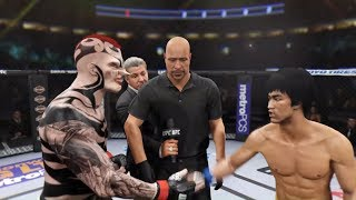Man Rhino vs. Bruce Lee (EA Sports UFC 2)
