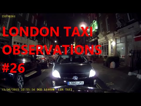 Dash Cam | London Taxi Cab Daily Observations (26) | Car Camera UK by TaxiWarrior