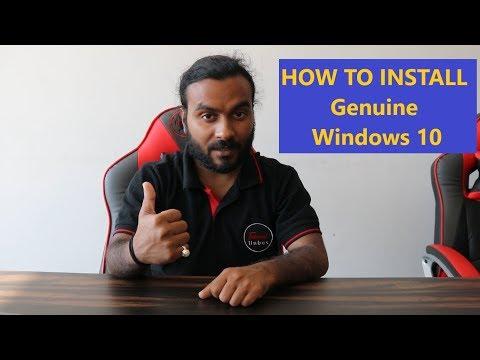How To Install Genuine Windows 10 Step By Step