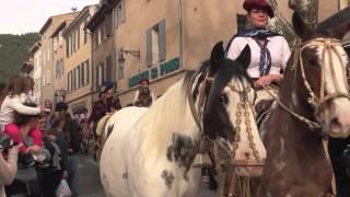 Gémenos Ruralia 2015 foire aux bestiaux extrait cavalcade