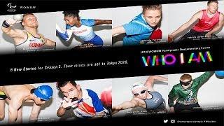 Tralier「WHO I AM Season 3」Paralympic Documentary Series【WOWOW】