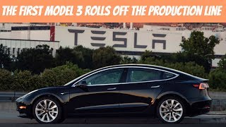 Elon Musk Tweets The Picture of The First Model 3   What Do We Know And What Can We Expect?