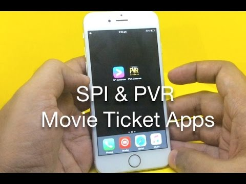 SPI & PVR Movie Ticket Booking Apps