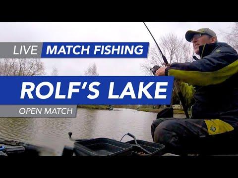 Live Match Fishing: Rolf's Lake, Open Match