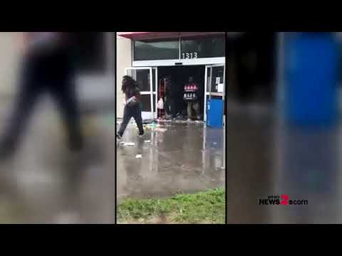 Suspected Looters Hit Family Dollar In Wilmington