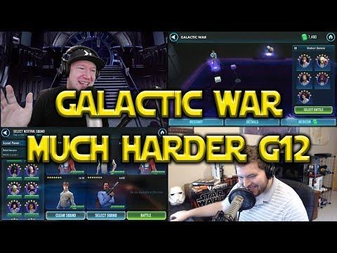 Star Wars: Galaxy Of Heroes - Galactic War Race - Territory Battles Harder?