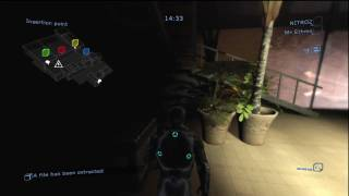 Splinter Cell: Double Agent Xbox 360 Gameplay (one game; spy view) 720p HD