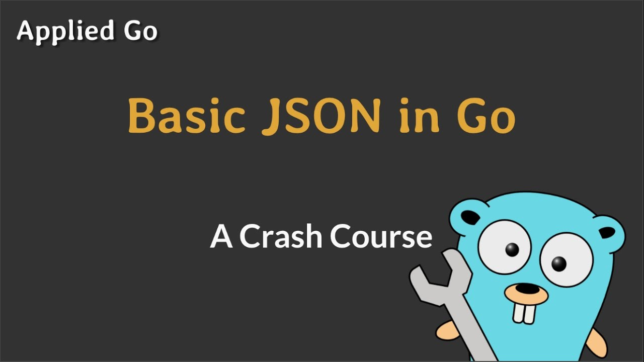 Deliver my data, Mr  Json! · Applied Go
