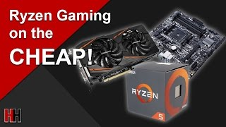 Sub $700 Ryzen 1400 Gaming PC