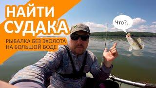 Ловля судака летом без эхолота Рыбалка с лодки на джиг летом