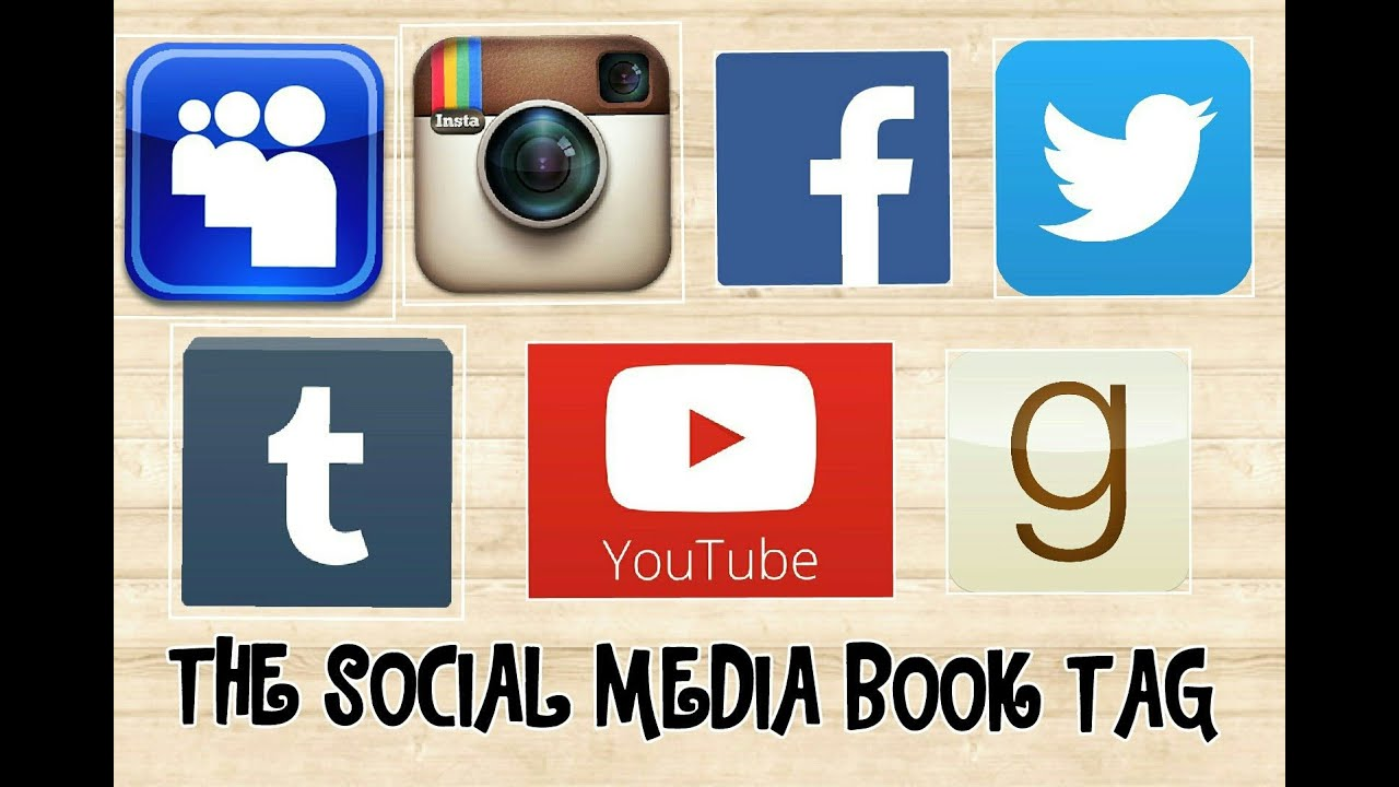 The social media book tag consiglio blog