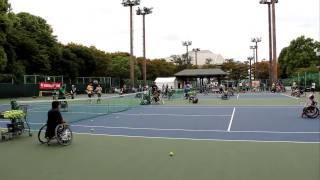 有明で行われた、テニスの日のイベントにて。。。 「熱い男 松岡修造」...