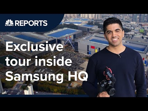 Inside Samsung's global headquarters in South Korea | CNBC Reports