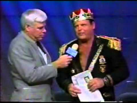 Jerry Lawler shoots on the Memphis Commercial Appeal