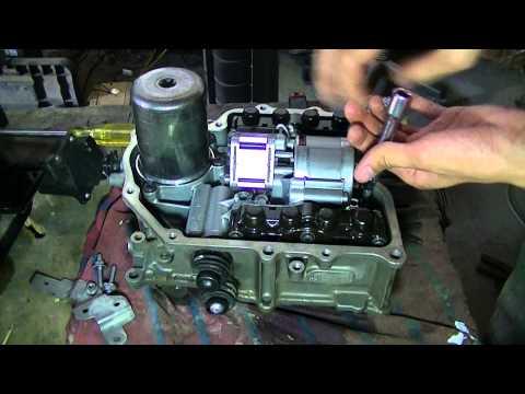 Inside the VW Golf MK6 DSG 7 speed mechatronics