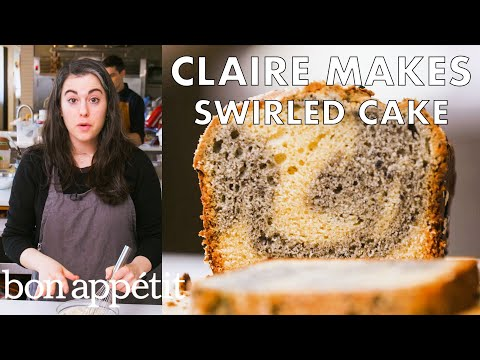 Claire Makes Swirled Sesame Cake | From the Test Kitchen | Bon Appétit