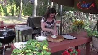 Samira's Kitchen #169 Grilled Chicken دجاج مشوي Grilled Eggplant  Mozzarella باذنجان مشوي