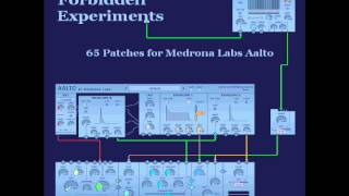 Download Demo 2 by Bryan Lee 'Forbidden Experiments' Patches for Medrona Labs Aalto VSTi MP3 song and Music Video