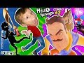 SCARY HELLO NEIGHBOR DREAM: SHADOW MAN! FGTEEV BUTT KICKED! COKE & MENTOS EXPERIMENT Basement Beta 3