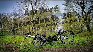 Scorpion fs 26 am Berg / bis zu 26% Steigung bis zum ...
